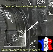 Bouchon Cache prise 10 broches pour Nikon D700 D300 D200 D1 D2 F5 F90
