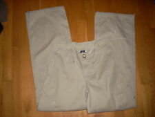 "NEW ~ Misses ~GAP Pants 31"" Sweet pockets -KHAKI Sz - 2/4"