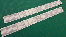 "Mazda Bongo Friendee Aero Auto Free Top ""Billabongo"" stickers decals graphics"