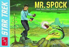 AMT Star Trek Mr Spock Box Art Bumper Sticker or Fridge Magnet