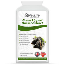 Green Lipped Mussel Extract - 500mg - 120 Capsules