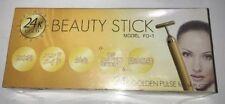 JAPAN BEAUTY STICK FO-1 24K GOLDEN PULSE VIBRATION SKIN CARE Best Price NEW