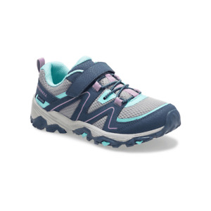 Merrell Kids Toddler, Little and Big Girl Trail Quest Washable Sneaker Navy/Grey