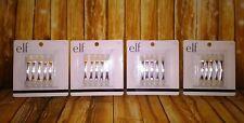 e.l.f. Eye Shadow Applicators Double-Sided Soft Applicators #1704 - 4 Pack Lot