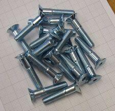 M10 10.9 grado di zinco Tappi Presa Svasata Csk Viti 50mm x 20