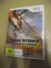 PAL Game Nintendo Wii Twin Strike Operation Thunder