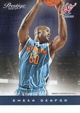 2012 13 Prestige #109 Emeka Okafor Washington Wizards NM NBA Trading Card