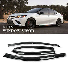 For 2018-2019 Toyota Camry Sport JDM Mugen Wavy Window Visor Rain Sun Guard