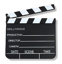 S/O Regieklappe 20x18cm Filmklappe Szenenklappe Hollywood Kreidetafel
