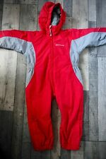 Sprayway Otter Insulated All In One Suit - Kids - Red - Age 4-5 - Snow Suit