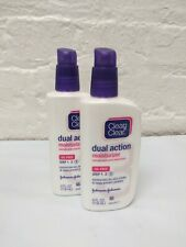 CLEAN - CLEAR Dual Action Moisturizer Oil-Free 4 oz (Pack of 2) 03/21