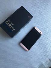 SAMSUNG GALAXY S7 EDGE PINK GOLD 32GB UNLOCKED ALL NETWORKS ANY SIM SMARTPHONE