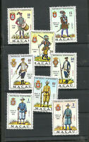 PORTUGAL MACAO YV # 403/10, COMPLETE SET, MNH, VF
