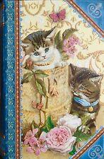 pUNCH sTUDIO Lavender Scented 4oz Soap in Keepsake Book Box - Basket Kittens