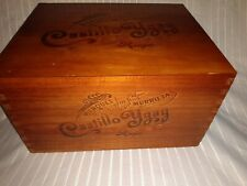 Wine Wood Crate Box Case CASTILLO YGAY RIOJA with inserts
