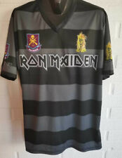 New listing IRON MAIDEN Soccer Football Jersey Sport Shirt - Very rare - Limited Edition XL