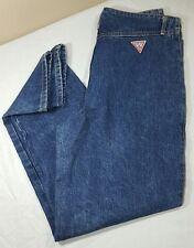 Vtg GUESS JEANS High Waist Marciano Denim 80's 90's Women 31x30 Blue