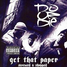 DO OR DIE GET THAT PAPER [Screwed & Chopped] [PA] (CD, Apr-2006, Rap-a-Lot) NEW!