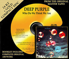 SEALED - AUDIO FIDELITY - GOLD CD - DEEP PURPLE - WHO DO WE THINK WE ARE