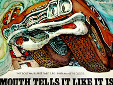 1969 PLYMOUTH BOSS 426 HEMI GTX ORIGINAL AD *Coronet/emblem/decal/steering wheel
