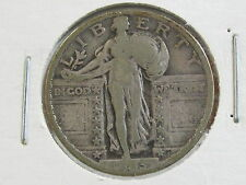 1923 STANDING LIBERTY QUARTER -DECENT SPECIMEN & FREE SHIPPING
