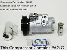 2004-2006 CHRYSLER PACIFICA 3.5L USA REMAN A/C COMPRESSOR KIT WITH WARRANTY.