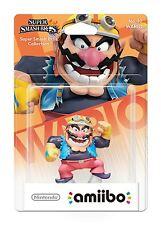 Nintendo Wii U 3DS Super Smash Bros No 32 Wario Collectible Figure Amiibo New