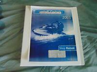 2001 Polaris Sea-Doo Ski GS GTS GTI GTX RX XP Watercraft Repair Service Manual