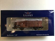 Liliput L235093 Covered Goods Wagon -Brakeman's Cab DR Epoche III H0 NewT48 Post
