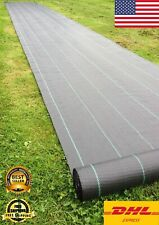 Ground Cover Heavy Duty Landscaping Fabric Mat Gardening Weed Control Cover