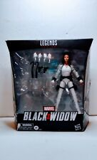 Black Widow Marvel Legends  Deluxe White Costume Action Figure missing pieces
