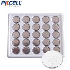 50 pcs PKCELL  Lot of CR2032 2032 cr 2032 3v Lithium Batteries Bulk Coin Cell