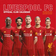 Liverpool FC 2020 Calendar, Square Poster Wall Calendar OFFICIAL MERCHANDISE