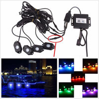 LED Rock Lights Wireless Bluetooth Music RGB Accent Under Car Pickup For Ford