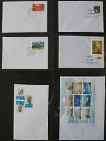 s2151)  Privatpost 71 Belege Ost-Deutschland 2003 - 2008 Ridas PIN Citykurier