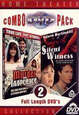 Silent Witness/Murder of Innocence --BRAND NEW ---FREE SHIPPING--b2