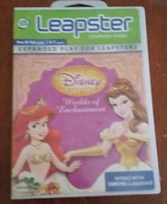 Leap Frog Leapster Learning Game, Disney Worlds of Enchantments, 2007, Age 4-7