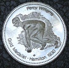 1978 XI COMMONWEALTH GAMES - EDMONTON CANADA - Percy Williams Gold Medalist