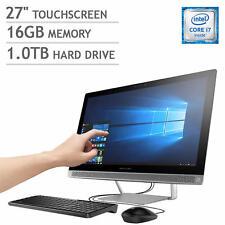 HP Pavilion 27-A227C All-in-One PC Intel i7 2.90G 16GB 1TB+128GB SSD Z5M13AA#ABA