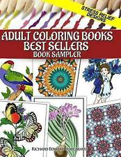 Adult Coloring Books Best Sellers Sampler: Stress Relief Designs (Coloring Pages