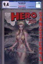 Hero Comics #nn 2014 CGC (J Scott Campbell& Nei Rulfino sexy Cover) IDW