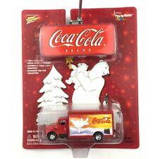 Johnny Lightning Coca Cola International Beverage Truck Polar Bear Die Cast 1/64