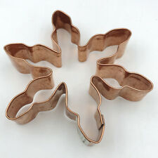 William Sonoma Copper Snowflake Large Cookie Cutter 5 inch