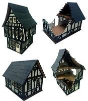 Tudor Style Buildings Scenery Medieval Terrain 28mm War Games Gaming Terrain