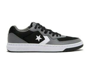 Size 9.5 Converse Rival Ox Men's Shoes Black Mason White Low Top Gray Dunk Skate