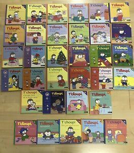 Enorme lot livres enfant tchoupi t'choupi 33 livres très bon état