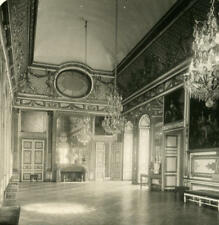 France Palace of Versailles apartments of Louis XIV Old NPG Stereo Photo 1900