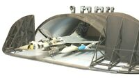 Hardened Aircraft Shelter NATO 1:72 scale model kit (lasercut set)