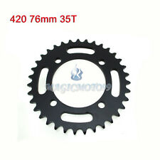 420 76mm 35T Rear Sprocket For Chinese 50-160 170 190cc CRF50 SDG Pit Dirt Bike