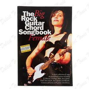 The Big Rock Guitar Chord Songbook Female Pink Heart Alanis *FAST DISPATCH*
